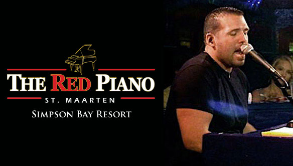 Vince Strong is performing at the Red Piano