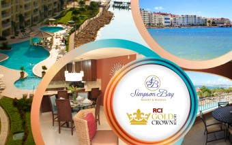 Simpson Bay Resort & Marina receives RCI Gold Crown Property Designation